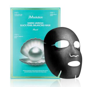 Foto Produk JM Solution Marine Luminous Black Pearl Balancing Mask Sheet Masker dari Bursa Cosmetik Murah