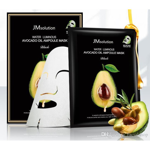 Foto Produk JM Solution Water Luminous Avocado Oil Ampoule Mask Sheet Masker dari Bursa Cosmetik Murah