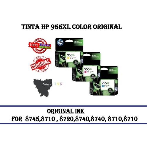 Foto Produk TINTA HP 955XL COLOR ORIGINAL - Biru dari CCK2303