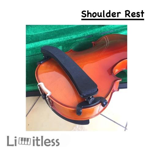 Foto Produk Shoulder Rest Biola Violin 3/4 4/4 Busa Tebal Nyaman Empuk dari Limit-less Store