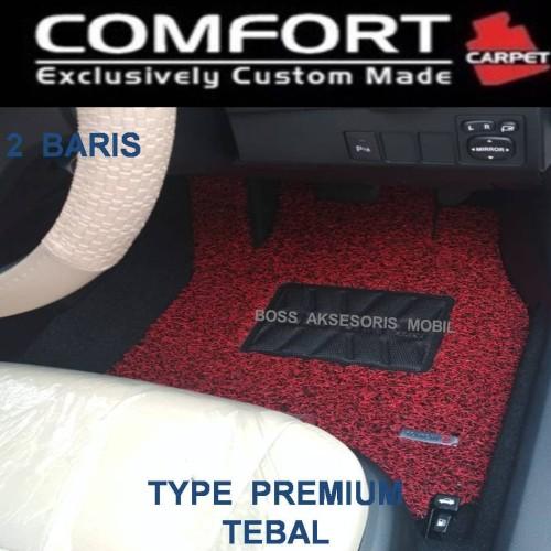 Foto Produk Karpet Comfort Premium Fortuner Innova Crv Turbo Pajero Rush 2 Baris dari Boss Aksesoris Mobil