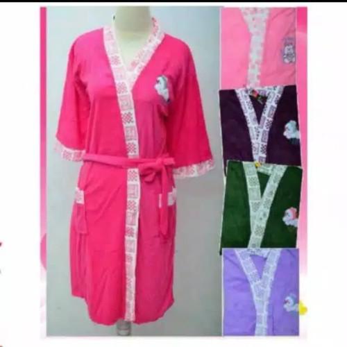 Foto Produk Kimono Baju Handuk Dewasa Tali Depan dari Galery Molitha