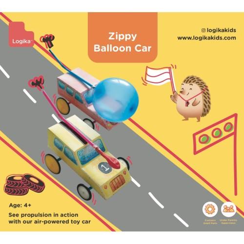 Foto Produk Mainan Edukasi Anak - Zippy Balloon Car dari LogikaKids