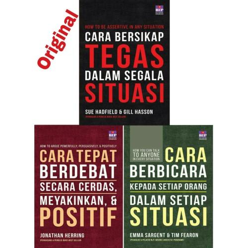 Foto Produk Paket 3 Buku Cara Berbicara , Bersikap Tegas Dan Cara Tepat Berdebat dari Showroom Books
