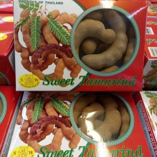 Foto Produk Sweet tamarind asam bangkok Thailand 250 gr | sweet tamarind | tamarin dari HRF _Shop