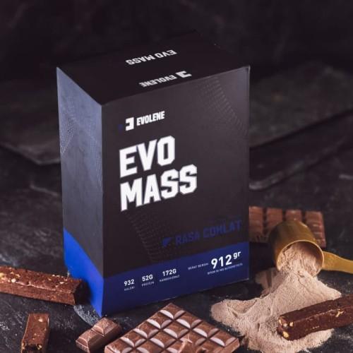 Foto Produk Evolene Evo Mass Gainer 2 lb 2 lbs 912 Gram Gr 912Gram EvoMass 912Gr dari Trusty Supplement