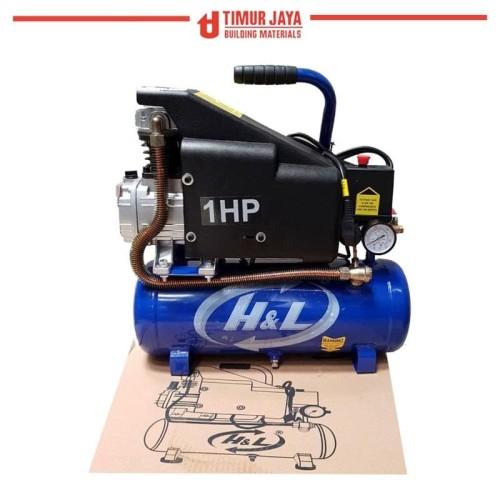 Foto Produk PROMO HnL Kompresor Angin Listrik air Compressor 1 HP skls Lakoni dari TOKO BESI TIMUR JAYA