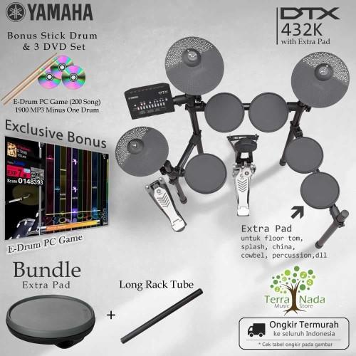 Foto Produk Drum Elektrik Yamaha DTX432K with XtraPad/ DTX432 / DTX 432 / 432K dari Terra Nada