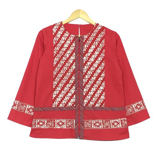 Foto Produk Atasan batik wanita aria blouse dari rheazalea