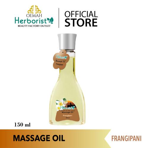 Foto Produk Herborist Massage Oil (Minyak Gosok / Urut / Pijat) Frangipani 150ml dari Oemah Herborist