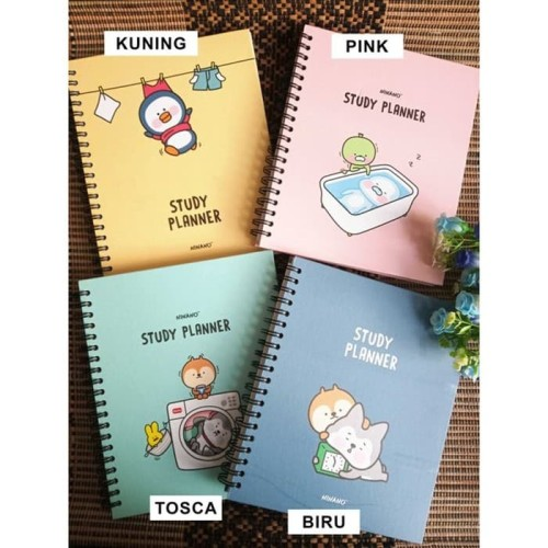 Foto Produk Weekly Planner / Buku Tulis Agenda Diary Full Color - Study Planner dari Frizia Collection