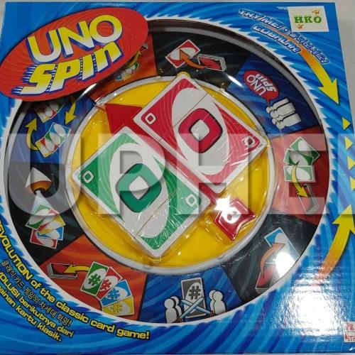 Foto Produk UNO Spin Kartu UNO Card Berputar Mainan Seru Rame dari Ruphen Shop