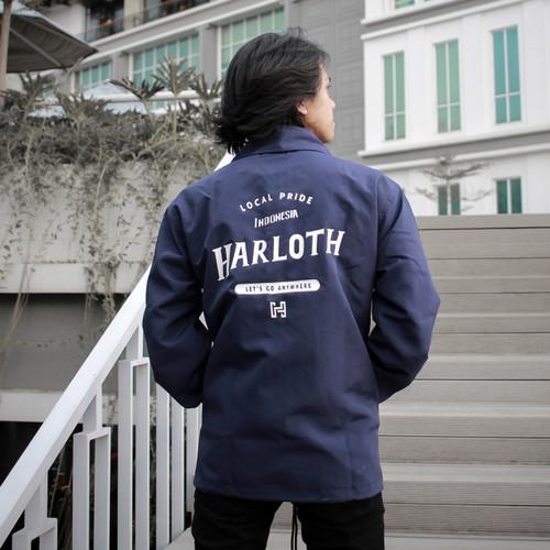 Foto Produk COACH JACKET NAVY HARLOTH - M dari HARLOTH OFFICIAL