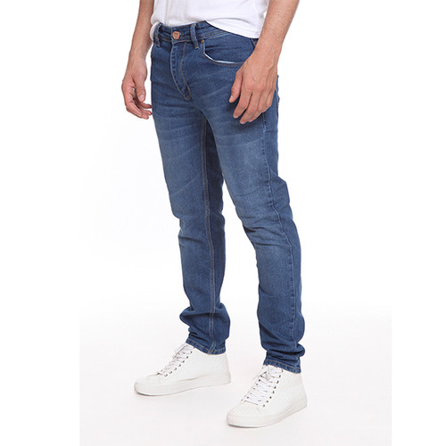 Foto Produk 2Nd RED Jeans Slim Fit Premium Felix Biru Aksen Washed 133280 - Biru, 29 dari 2nd RED Jeans
