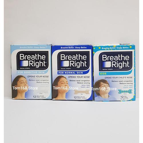 Foto Produk BREATHE RIGHT NASAL STRIPS - 12 STRIPS - IMPORT - KIDS dari Tom168.Store