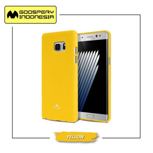 Foto Produk Goospery Samsung Note 5 Pearl Jelly Case - Yellow dari Goospery Indonesia