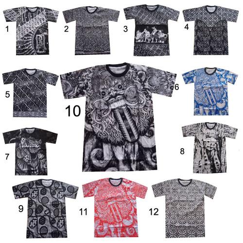 Foto Produk Kaos Batik Katun Harsa - M dari Jogja-Batik
