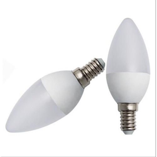 Foto Produk Bohlam Lampu Lilin Cabe LED Candle Hias 3watt E14 not Philips Putih dari juragan kado