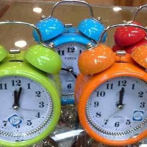 Foto Produk jam weker/jam meja beker - Hijau dari tiaranovitasari132