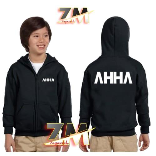 Foto Produk JAKET HOODIE ZIPPER ANAK AHHA ATTA HALILINTAR FANS dari zaysablon