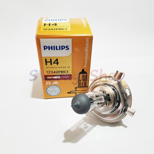 Foto Produk Lampu Halogen H4 12V 60/55W Philips dari Seraya Shop