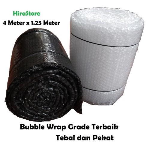 Foto Produk Bubble wrap 1.25 m x 4 m = 5 meter pesegi murah khusus J&T dan Gosend dari Adreena Syahira Shop