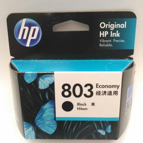 Foto Produk Tinta Printer HP 803 Black Economy ORIGINAL Ink Cartridge dari TXC Computer