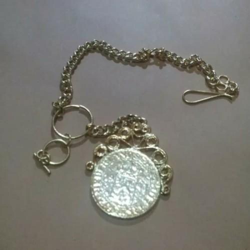 Foto Produk Benggol koin // Rantai beskap // kuku macan adat betawi - GOLD dari FAUZAN GHIFFARY SHOP