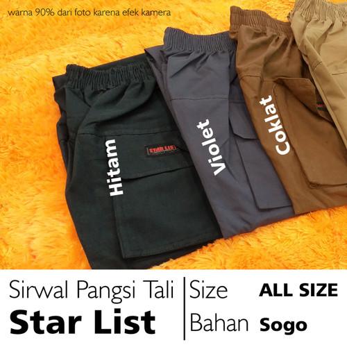 Foto Produk Celana Sirwal Pangsi Tali Starlist - Ungu dari sulthan apparell