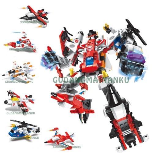 Foto Produk Lego Robot Qman Enlighten 1405 Warrior Of The Damned Pesawat (6 macam) dari Gudangmainanku