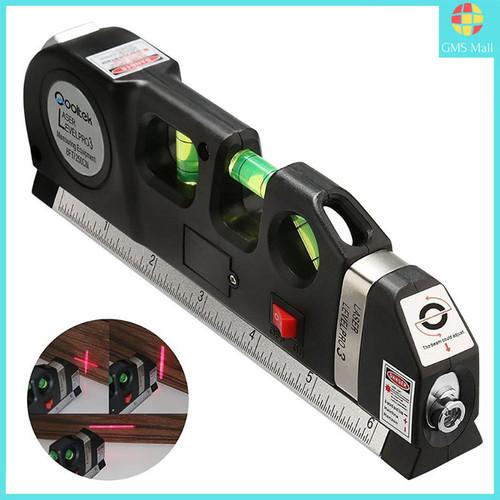 Foto Produk Fixit Level Pro 3 Penggaris Laser Waterpass Meteran Laser 250 Cm dari lbagstore