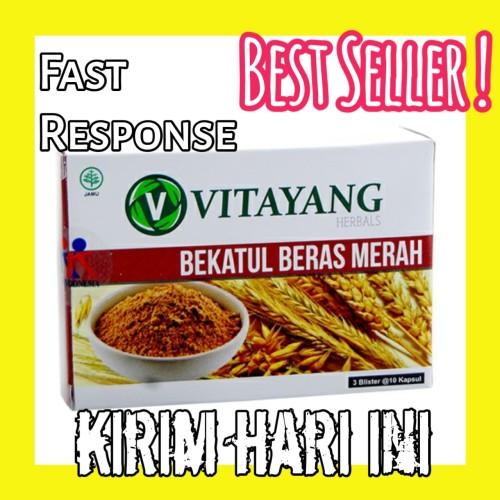 Foto Produk Herbal penurun Kolestrol dan Hipertensi, Vitayang bekatul beras merah dari yleo_murah