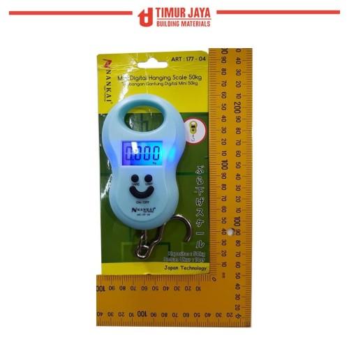 Foto Produk Timbangan JAPAN Gantung Mini Digital Portable Electronic Scale Travel dari TOKO BESI TIMUR JAYA