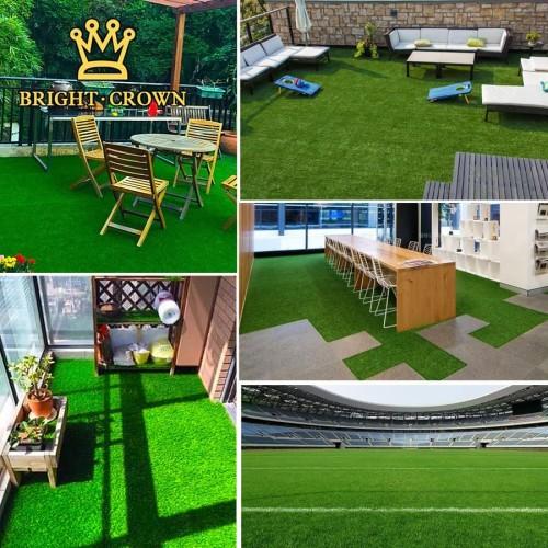 Foto Produk Karpet Rumput sinteti, Rumput Sintetis 0.5x0.5M 10mm- Artificial Grass dari Bright Crown Official