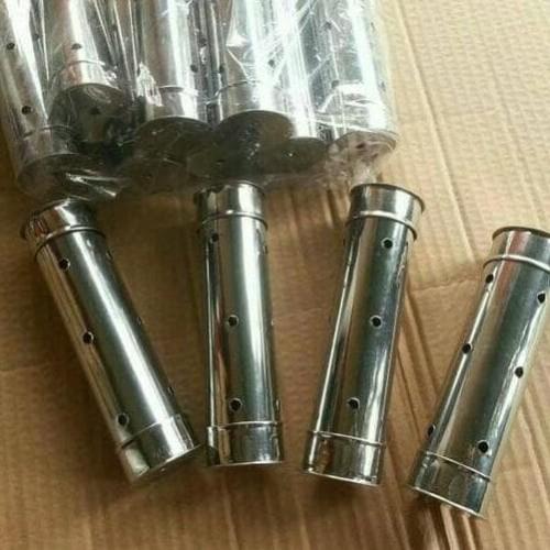 Foto Produk New Cetakan Lontong Stainless Steel Anti Karat Isi 1 Lusin ukuran 4x15 dari mutyastor