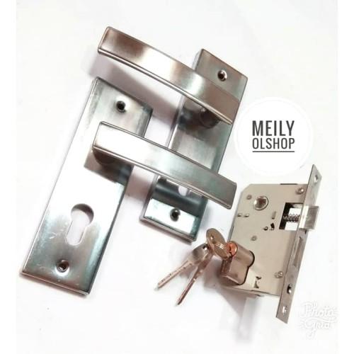 Foto Produk Kunci Pintu Rumah (Ukuran Kecil) / Handle Pintu / Tarikan Pintu dari Meily Olshop