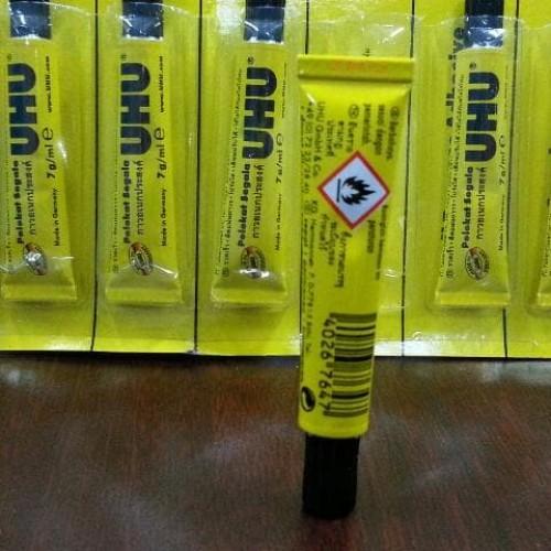 Foto Produk Lem Glue Uhu Tube 7Ml All Purpose Adhesive dari Belanja Bebas