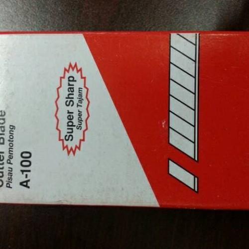 Foto Produk Isi Cutter Kecil Joyko A-100 - Refill Cutter Blade dari Belanja Bebas