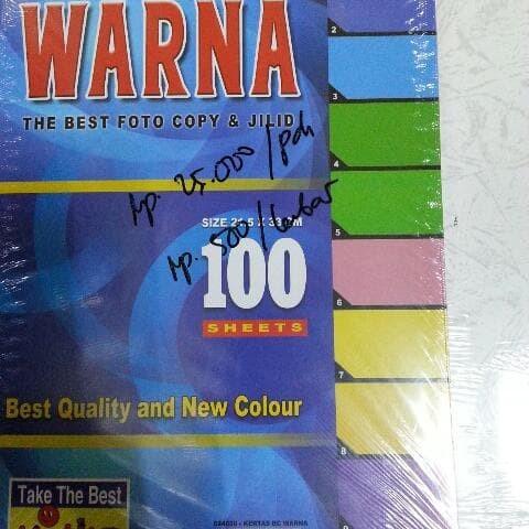 Foto Produk Kertas Karton Bufalo Warna Kiki Best Quality dari Belanja Bebas