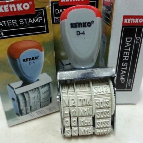 Foto Produk Stample Tanggal Kenko D4 - Dater Stamp dari Belanja Bebas