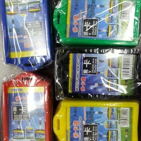 Foto Produk Card Holder - Tempat Simpan Kartu Id Card Plastik Tebal Kejea T017 dari Belanja Bebas