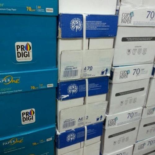 Foto Produk Kertas Hvs A4 70 Gram Copy Paper dari Belanja Bebas