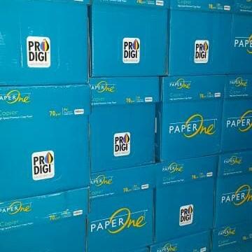 Foto Produk Kertas Hvs A4 70Gram Paper One dari Belanja Bebas