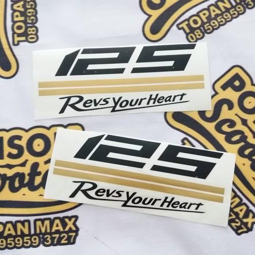 Foto Produk sticker 125 yamaha lexi dari POISON SCOOTER