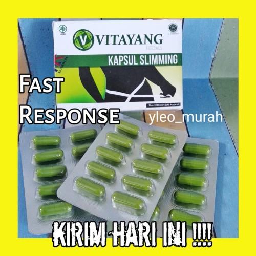 Foto Produk Vitayang Slimming Capsule, turun berat badan 3-5kg sebulan dari yleo_murah