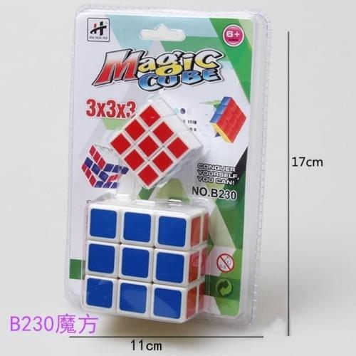 Foto Produk Mainan Anak Rubik Rubick 3x3x3 2 in 1 / Mainan Anak Magic Cube Rubik dari R&M Toys