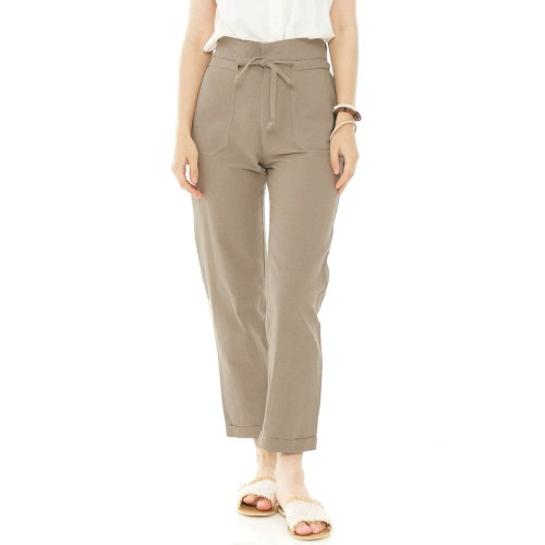 Foto Produk Anvaya Pants in Olive - Beatrice Clothing dari Beatrice Clothing
