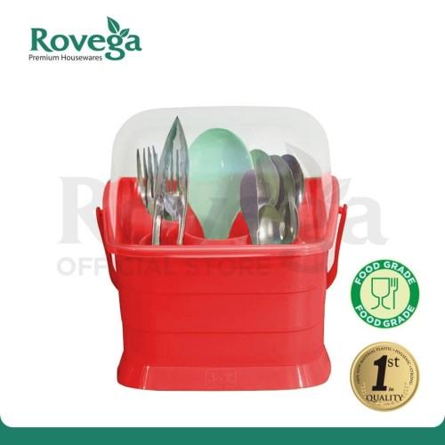 Foto Produk Rovega Big Spoony Tempat Sendok Premium Food Grade (MERAH) dari ROVEGA OFFICIAL STORE