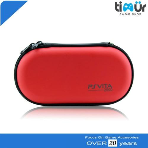 Foto Produk Dompet Tas Airfoam Pouch Travel Bag PSVita PS Vita Warna Merah dari Timur Game Shop