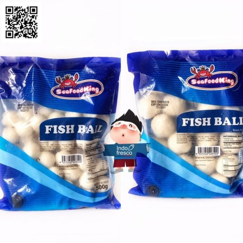 Foto Produk Seafood King Bakso Ikan- Fish Ball 500g - Bakso besar dari IndoFresco